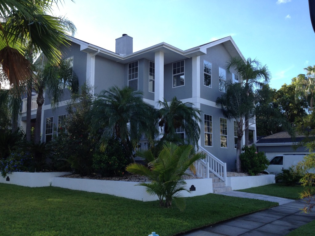 House Window Film Tinting Project on Bayshore Blvd in Tampa