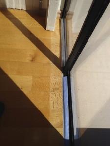 floor damage occurring from UV Rays